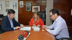 Basavilbaso firmó un convenio por el Programa