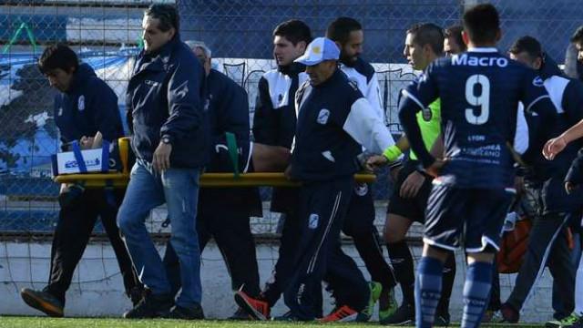 Conmoción: entrerriano golpeó su cabeza en un partido de fútbol