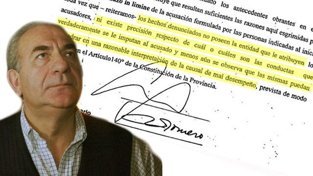 Juicio político a Chiara Díaz: las razones para el rechazo in limine