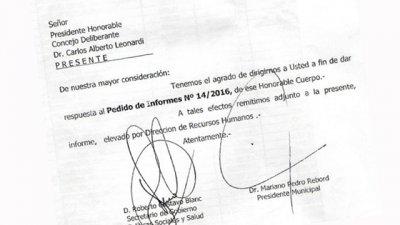 Polémica por la publicación de la planta de personal municipal