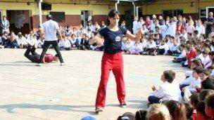 El Combinado Argentino de Danza dictó un taller