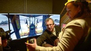 Con un simulador capacitarán a trabajadores viales