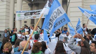 Jueves: paro nacional docente y movilización contra la reforma previsional