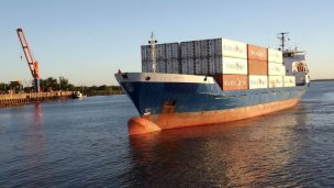 Integración: entrerrianos y uruguayos exportan a través del río Uruguay