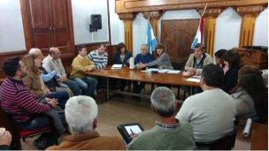 Ahga, Cecom y los concejales, hablaron de turismo