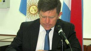 Arribalzaga, un intendente sin concejales ni partido