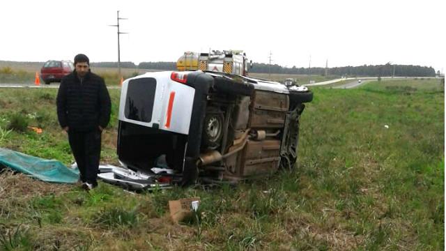 Accidente fatal en la ruta 14