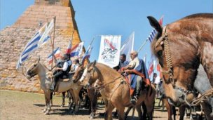 Más de 5.000 jinetes al encuentro con Artigas en la Meseta