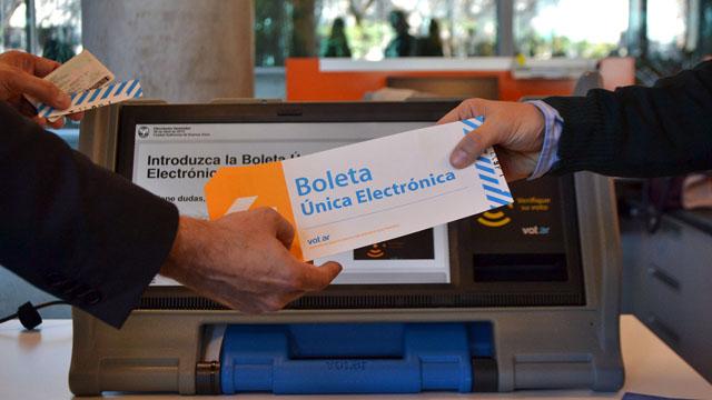 Elecciones 2017: Nación quiere boleta electrónica en todo el país