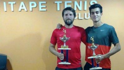 Bordet y Bartorelli quedaron con la victoria del Torneo Itape Tenis Club