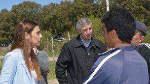 La diputada Yanina Gayol visitó Concepción del Uruguay