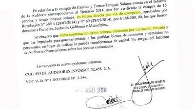El EPRE compró termotanques solares y el Tribunal de Cuentas objetó el modo
