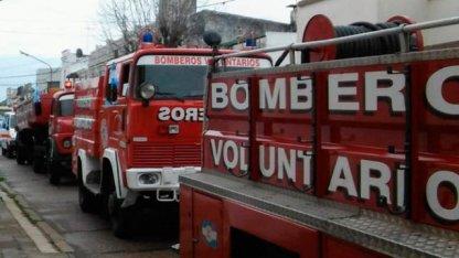 Impulsarán ley para bomberos voluntarios