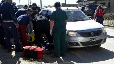Funcionario chocó a un entrerriano, en el sur del país