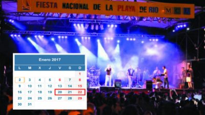La Fiesta Nacional de la Playa de Río ya tiene fecha