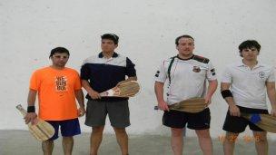 Pelota Paleta: se disputó el Torneo Río Uruguay