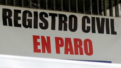 Miércoles de paro en el Registro Civil de Entre Ríos