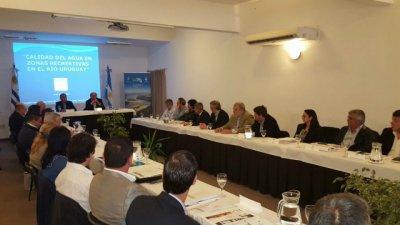 El equipo técnico de CARU dio a conocer la calidad de agua del río Uruguay