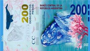 El Banco Central presentará el billete de $200