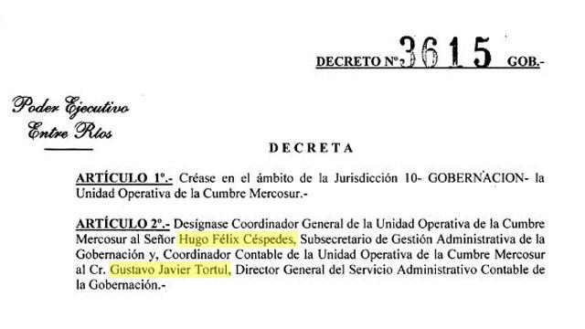 Los funcionarios que tuvieron papeles clave en la Cumbre del Mercosur