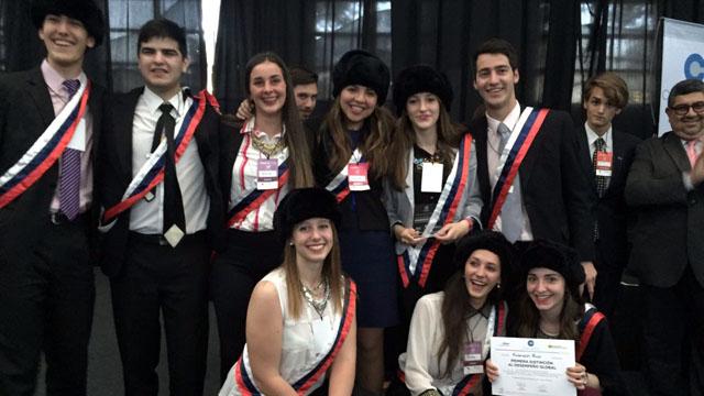Estudiantes de Chajarí representaron a Rusia