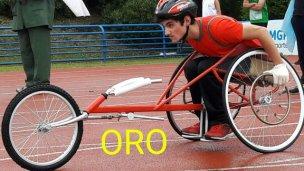 Ayrton, medalla de oro a nivel nacional