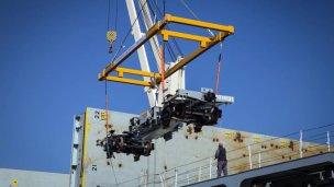 Llegan a Entre Ríos 100 nuevos vagones de carga