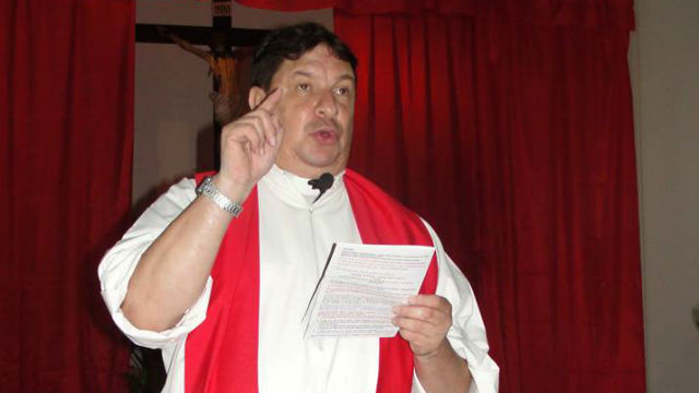 Escobar Gaviria, párroco en Lucas González.