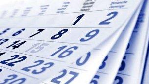Así quedaría el calendario de feriados para el 2017