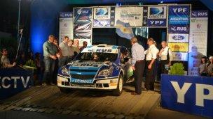 Aceleró el Rally Argentino
