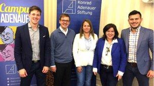 Soledad Torres y su experiencia como becada de la Fundación Konrad Adenauer