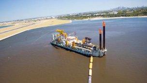 Río Uruguay: desde Dubai llegará la draga