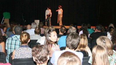 Maratón de teatro, a sala llena