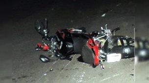 Trágico accidente en el acceso a la ciudad