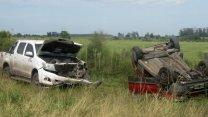 Fatalidad en un camino vecinal de Villa Elisa