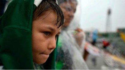 Bajo la lluvia, Chapecó despidió a sus héroes