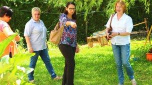 Consultora de Unicef evaluó un proyecto en barrio El Brillante