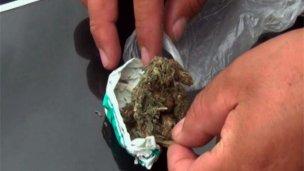 Secuestraron marihuana y más de 3 mil pesos en efectivo