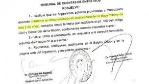 El Tribunal de Cuentas impidió que el IAFAS destruyera documentos