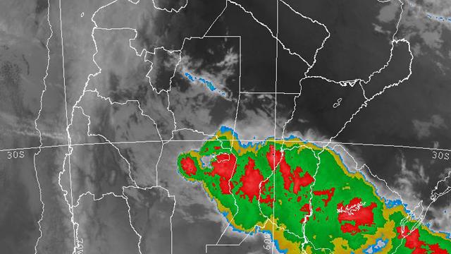 Entre Ríos continúa en alerta por lluvias y tormentas