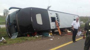 Pasajeros perdieron la vida en un accidente