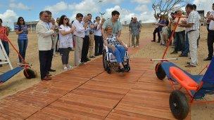 Una playa inclusiva para todos ya es un realidad