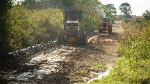 Pidieron nuevamente por una solución para los caminos rurales