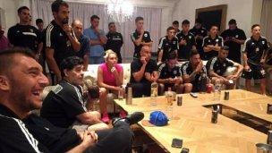 El sueño de compartir lecciones con Maradona