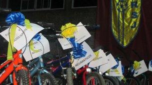 Los Reyes Magos entregaron 31 bicicletas