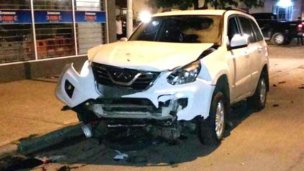 Tres heridos en un choque