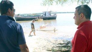 El refulado de la playa avanza hacia la zona sur