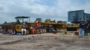 Uocra pide que se reincorpore a los obreros despedidos