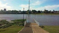 """El río Uruguay """"está lejos de una creciente"""""""