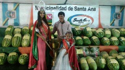 Camila Quagli es la nueva reina nacional de la sandía